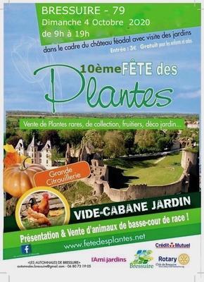 Vide cabane de jardin - 10ème Fête des plantes - Bressuire (79300) - 04 Octobre 2020