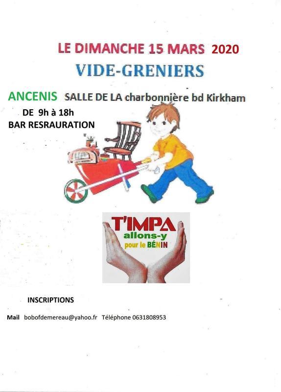 Calendrier Des Vide Grenier 2020.Vide Grenier De Printemps Ancenis 44150 15 Mars 2020