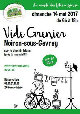 Vide greniers noiron sous gevrey 14 5 2017 for Noiron sous gevrey