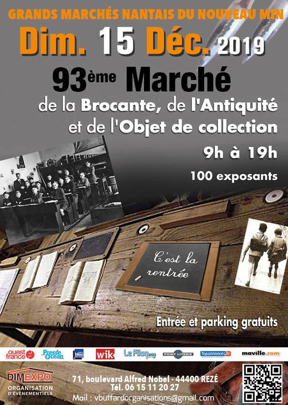 Le grand marché nantais - Brocantes