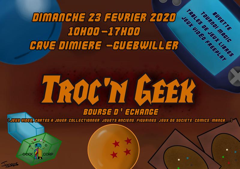 Troc'N Geek - Bourse d'échange Geek