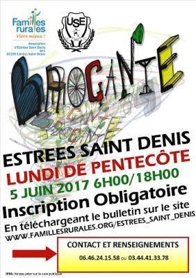 Vide greniers estrees saint denis 5 6 2017 - Lundi de pentecote 2017 ...