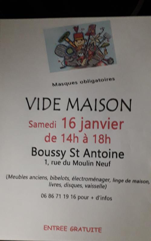 Vide-Maison - Boussy-Saint-Antoine (10) - 10 Janvier 10