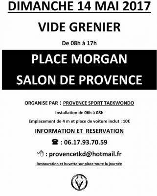 vide greniers salon de provence 14 5 2017