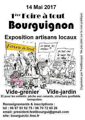 Vide greniers bourguignon 14 5 2017 - Foire a tout 60 ...
