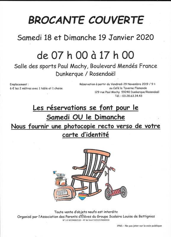 Brocante 03 Calendrier 2020.Brocante Et Vide Grenier Dunkerque 59140 Brocabrac