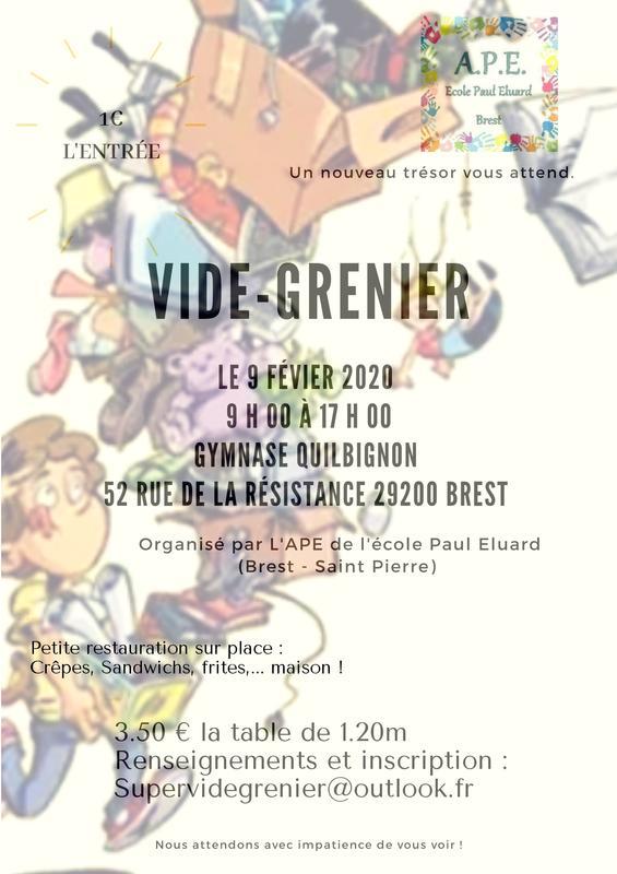 Calendrier Des Vide Grenier 2020.Brocante Et Vide Grenier Kerlouan 29890 Brocabrac