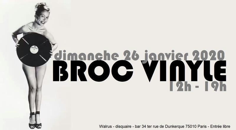 Broc' Vinyl au Walrus