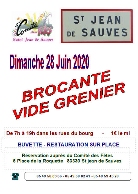 Brocante Et Vide Grenier Beaumont Saint Cyr 86490 Brocabrac