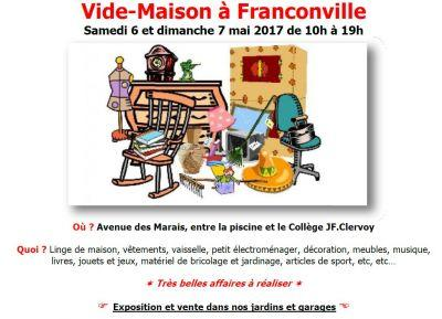 Vide greniers franconville 6 5 2017 for Garage de la piscine franconville