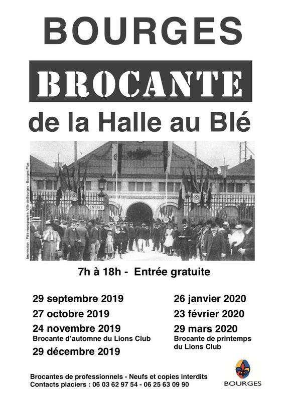 Brocante 03 Calendrier 2020.Brocante Et Vide Grenier 18 Cher Brocabrac