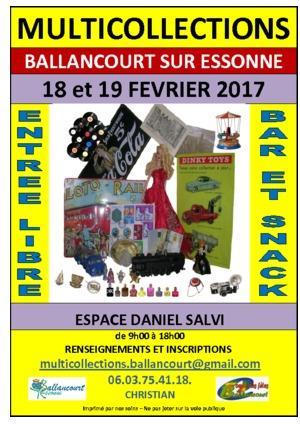 Vide greniers ballancourt sur essonne 19 2 2017 for Salon artisanat a ballancourt sur essonne