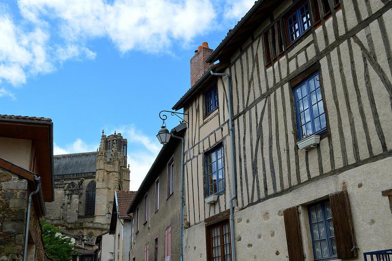 La vieille ville de Limoges