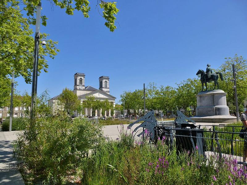 La Place Napoléon de la Roche-sur-Yon