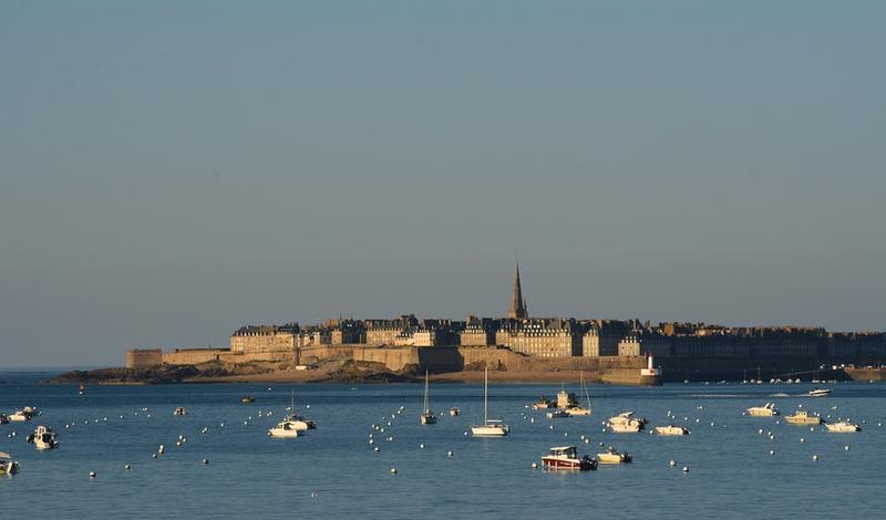 La baie de Saint Malo