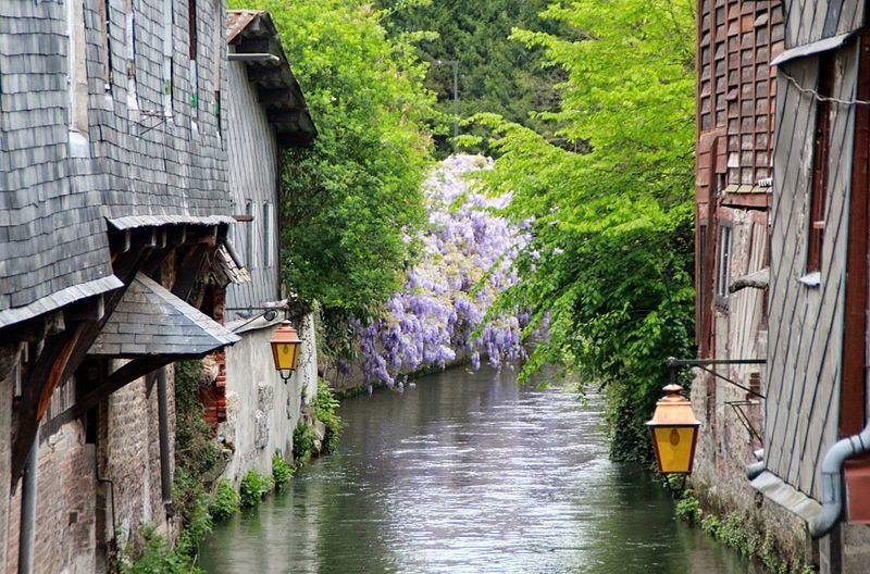 Les canaux de Pont-Audemer