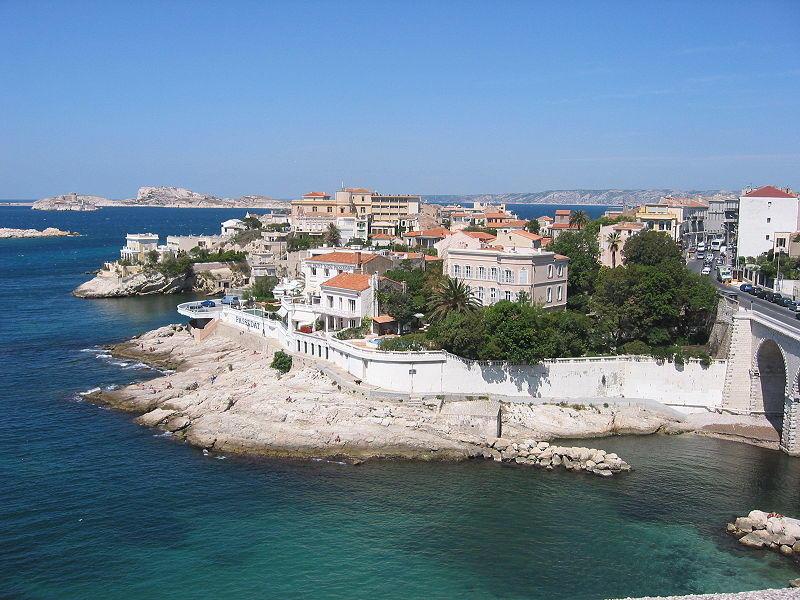 Corniche du Président John Kennedy à Marseille