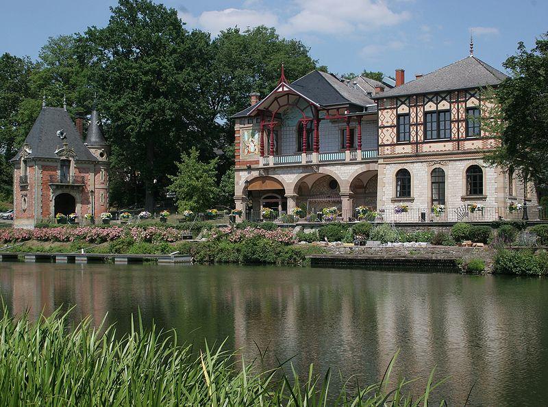 Casino et Pavillon de Geiger à Sarreguemines