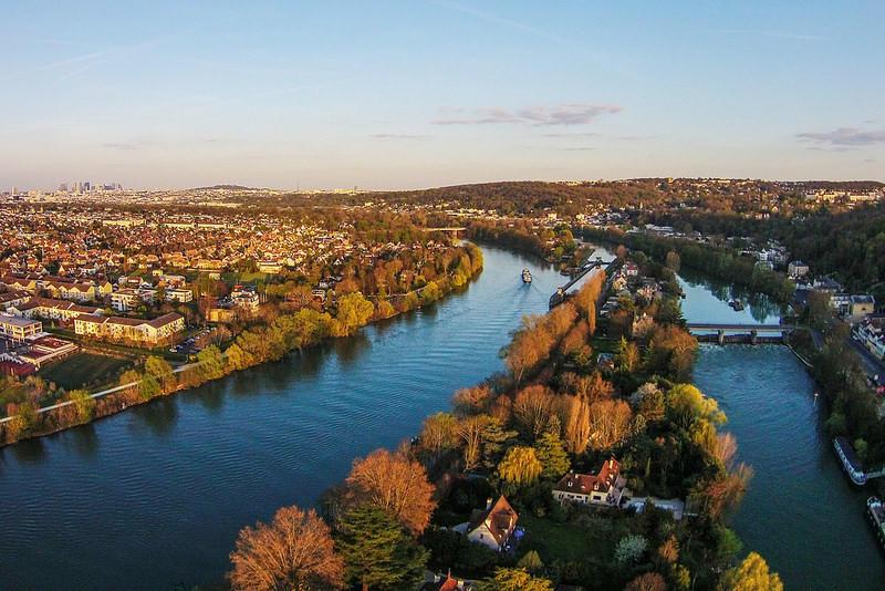 Ile de la Loge à Louveciennes