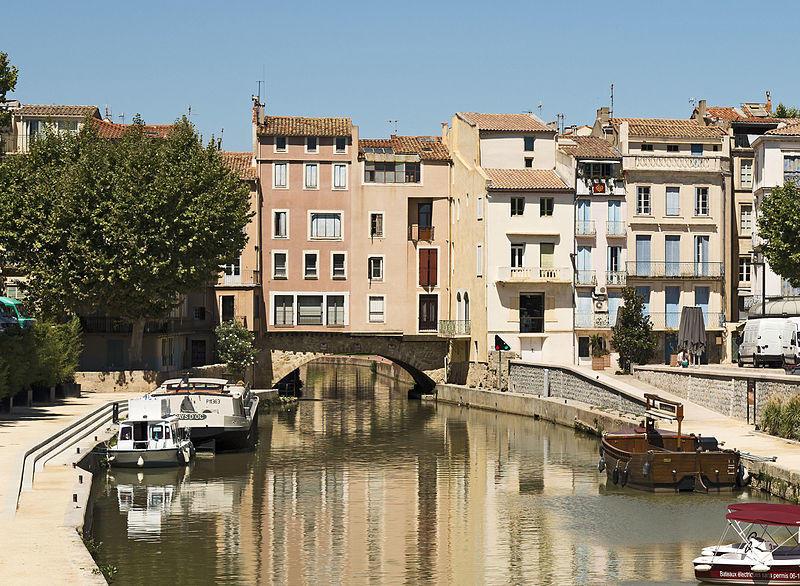 Le pont des marchands à Narbonne