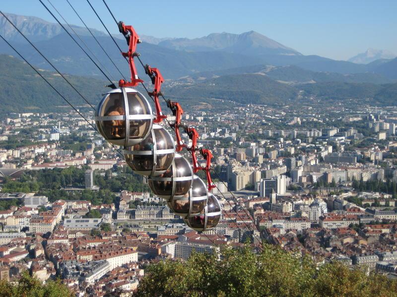 Le téléphérique de Grenoble