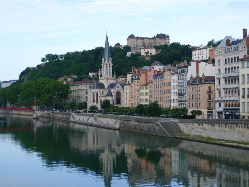 Vue des quais de Lyon