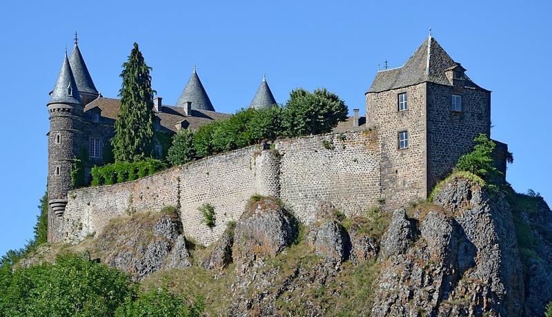 Château du Sailhant à Andelat