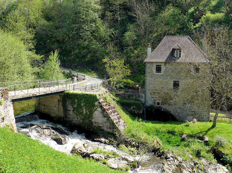Le moulin de la ville de Boussac