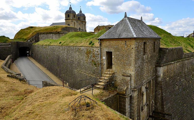 La loge du gardien sur la citadelle de Montmédy