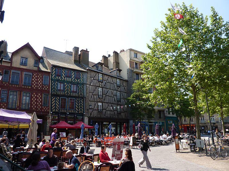 Place Sainte Anne à Rennes