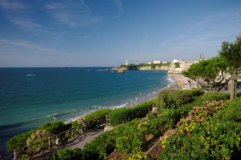 La baie de Biarritz