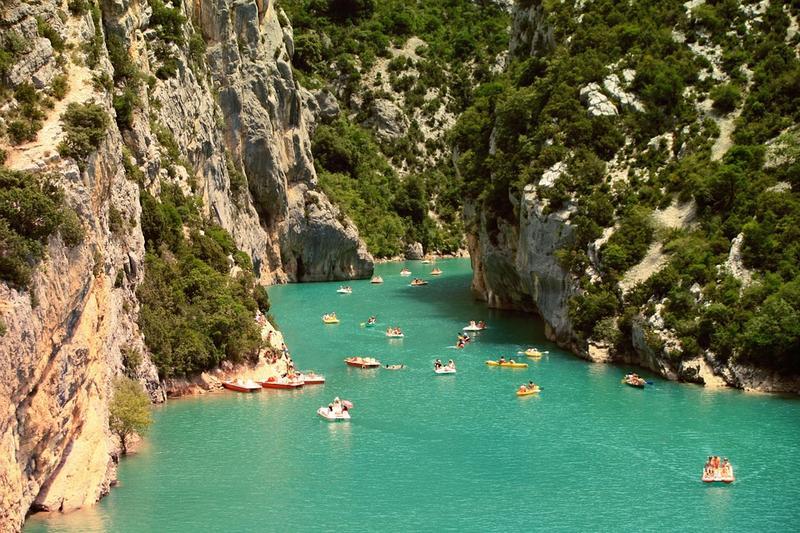 Les Gorges d'Ardèche
