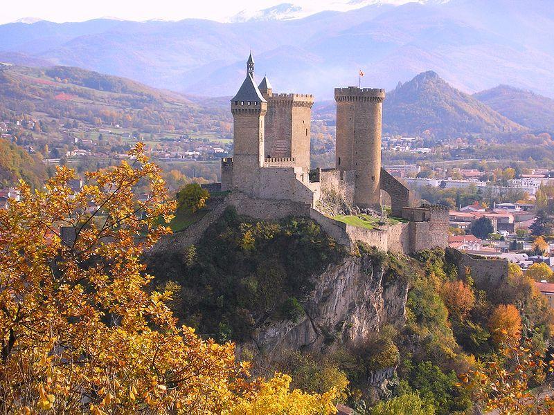 Château de Foix vu depuis l'Espinet