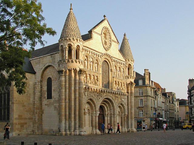 Notre Dame la Grande à Poitiers