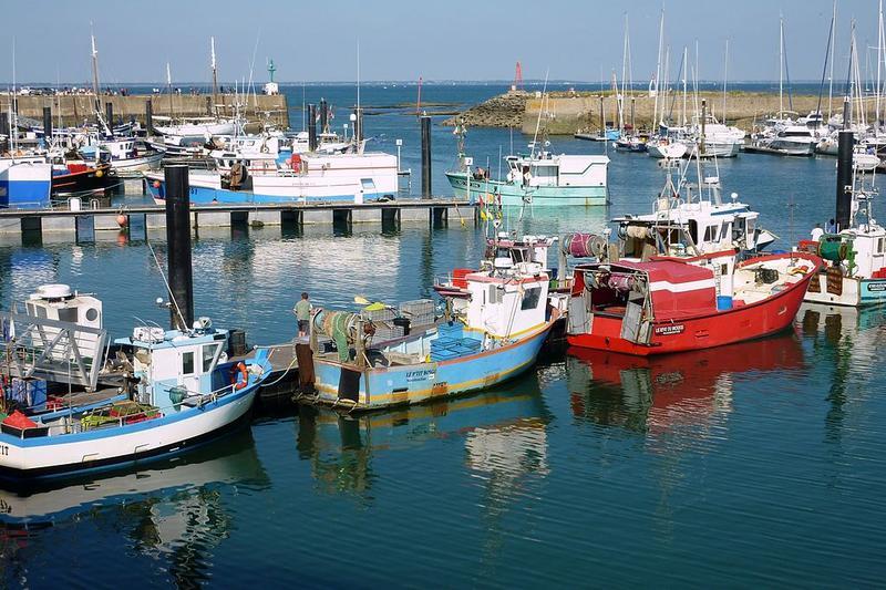 Le port de l'Herbaudière à l'Île de Noirmoutier