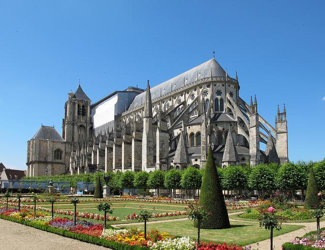 Cathedrale de Bourges, patrimoine de l'UNESCO