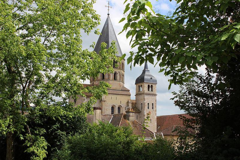 Le clocher de l'Abbaye de Cluny