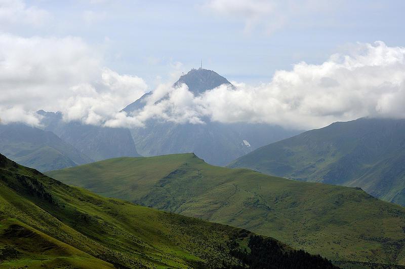 Le pic du Midi depuis le Col d'Apis