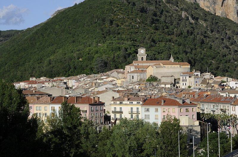 Vue Panoramique sur la ville de Digne-les-Bains