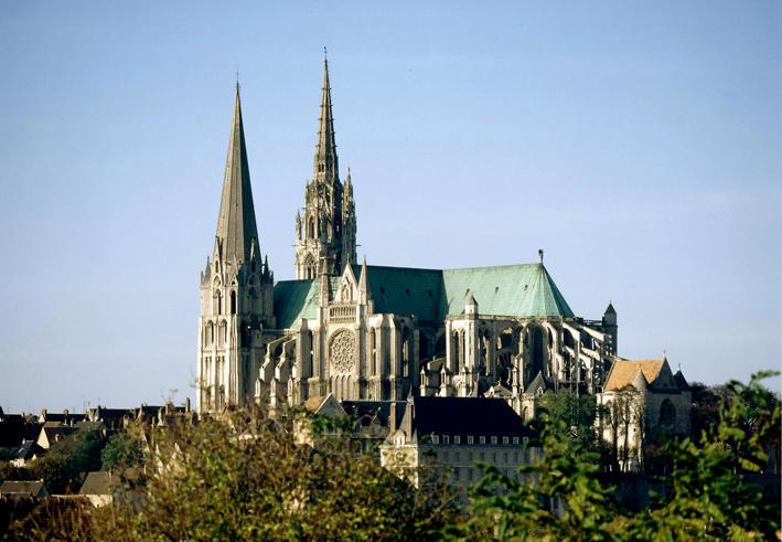 Cathédrale de Notre Dame à Chartres