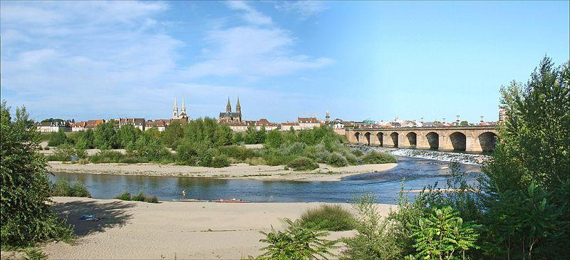 Pont Régemortes à Moulins