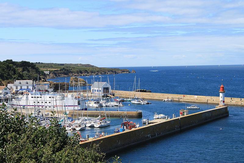 Port de Tudy à l'Île de Groix