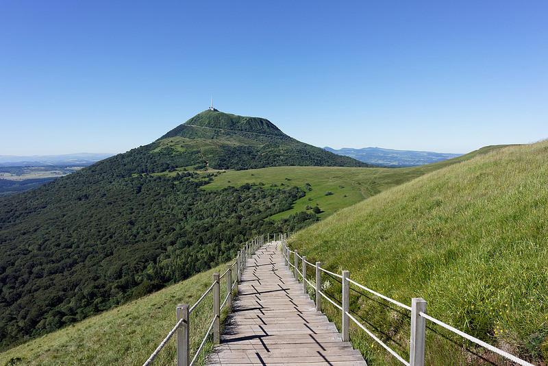 Le Puy de Dôme à Orcines