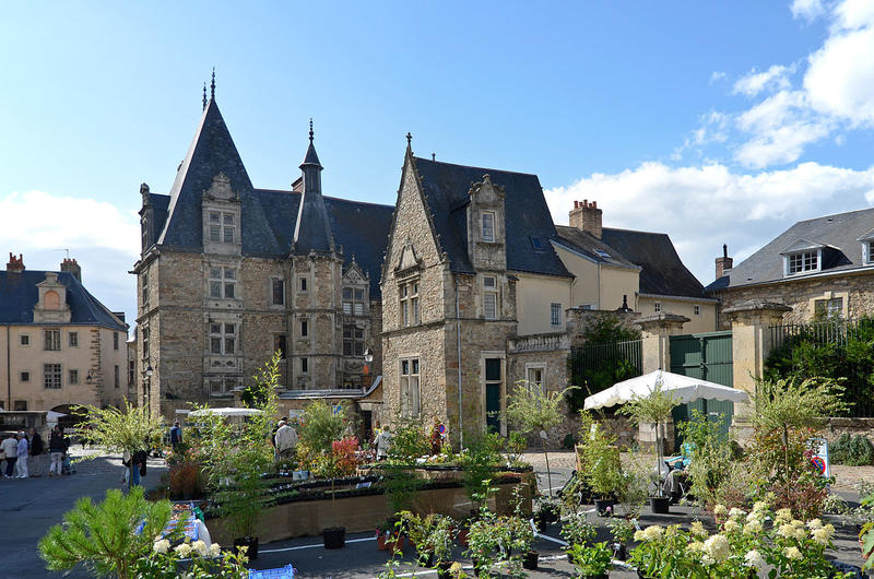 Le palais du Grabatoire du Mans