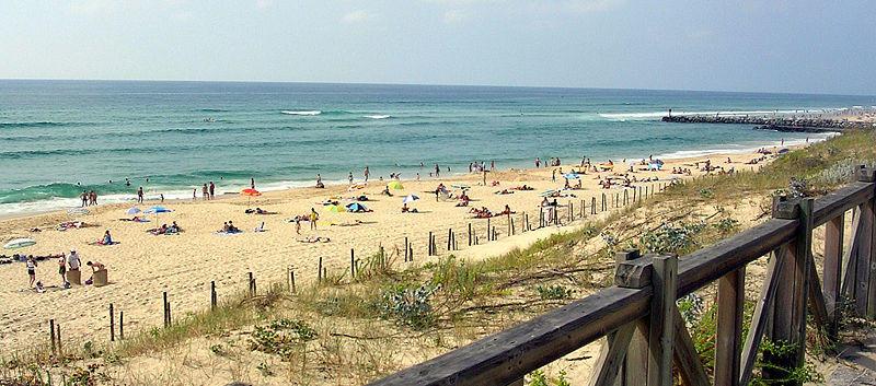 La plage de Mimizan