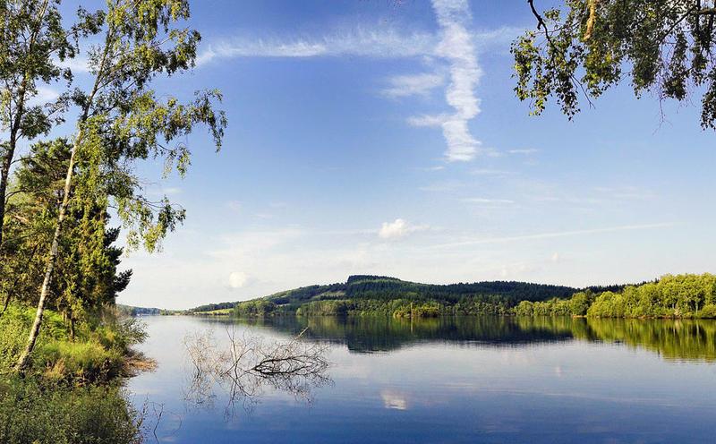 Le lac de Vassivière à Beaumont-du-Lac